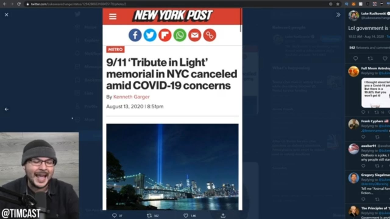 Trump Says He Will Flip NY RED As The State Was Destroyed By Democrats, City CANCELS 9/11 Memorial