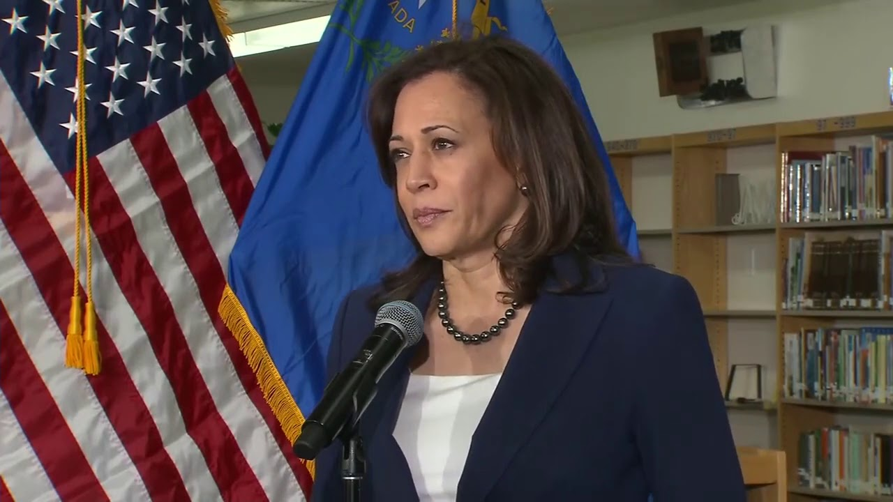 """Kamala Harris """"Believes"""" Joe Biden Accusers who claim he touched them inappropriately"""