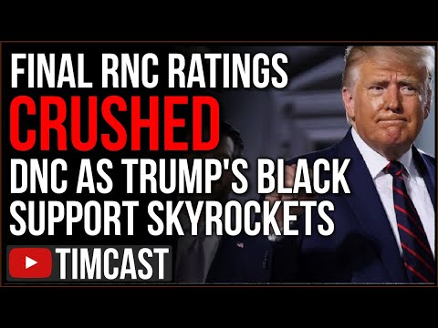 Republicans CRUSHED Democrats In Ratings, Trump Black Support SKYROCKETS Hinting Trump Reelection