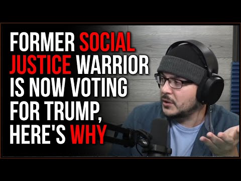 Former SJW DEFECTS, Announces They Will Vote For Trump And Gives Reasoning
