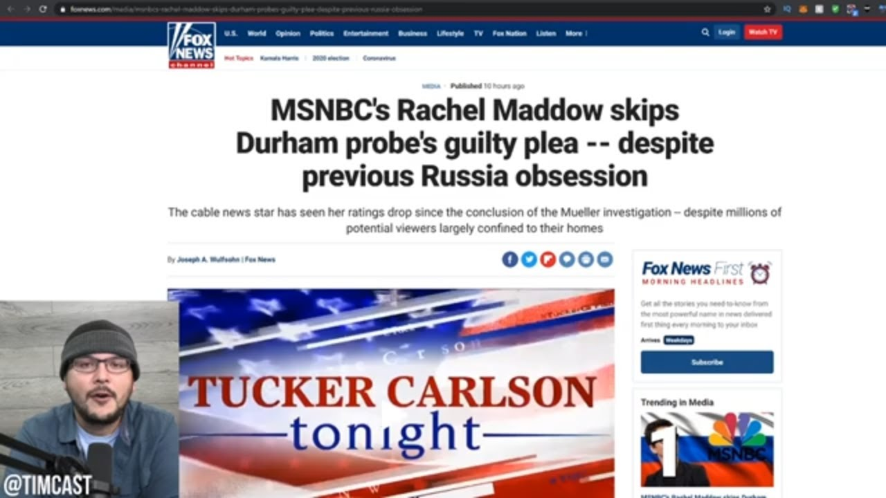 Rachel Maddow Hilariously Decides To Ignore Durham Probe Proving She's A HACK