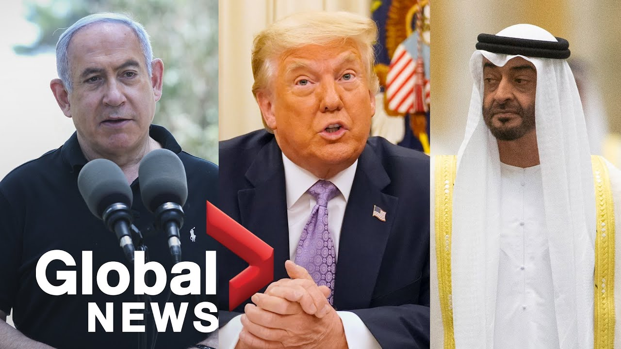 People Call For Trump To Win Nobel Peace Prize After Historic Middle East Peace Deal