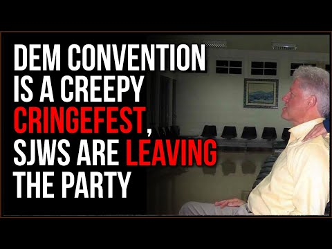 Democrat Convention Is A CRINGEFEST, Clinton EXPOSED And They Still Have Him Speak, TOTAL Hypocrisy
