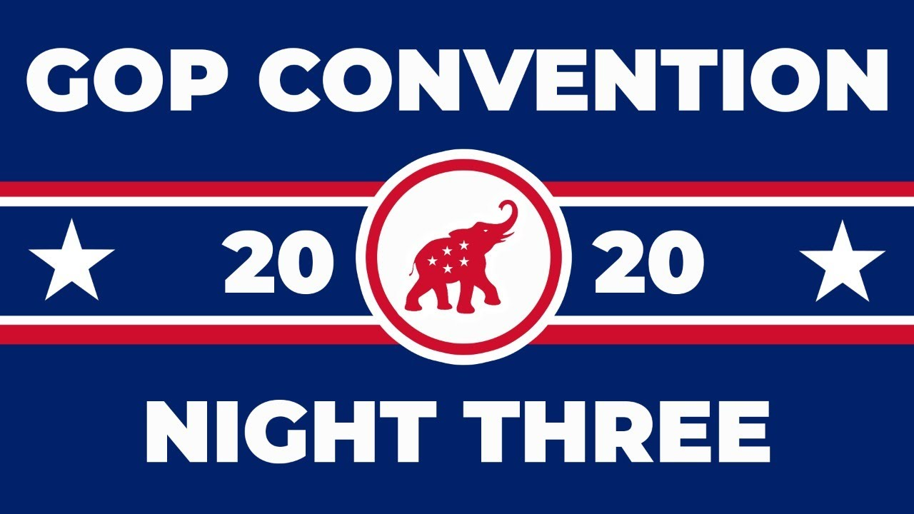 WATCH: Republican National Convention – Night 3: Land of Heroes