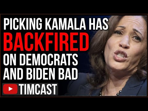 Picking Kamala Harris BACKFIRED On Democrats, Leftists HATE Her And Even Black Voters Say NO WAY
