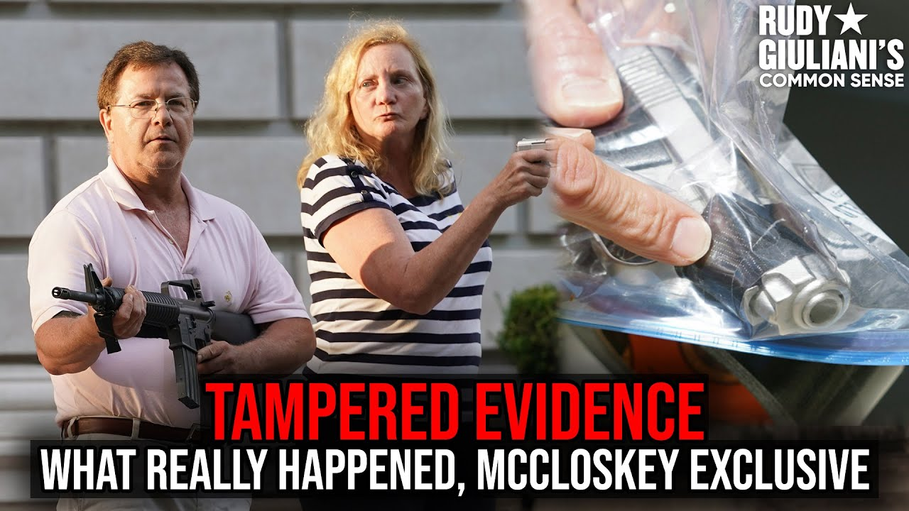 TAMPERED EVIDENCE: McCloskey's Walk Rudy Giuliani Through What Really Happened