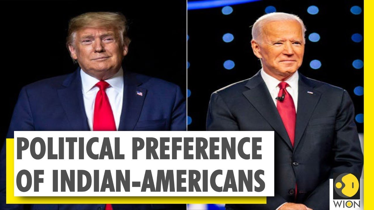 According to a recent survey Indian-Americans prefer Biden over Trump; Watch Report