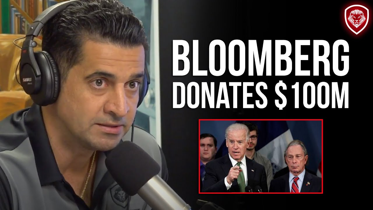 Why Bloomberg Donated $100M to Biden