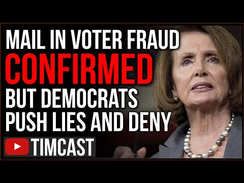 Mail in Voter Fraud CONFIRMED But Democrats DENY And Lie Even As 1 Million Votes Compromised