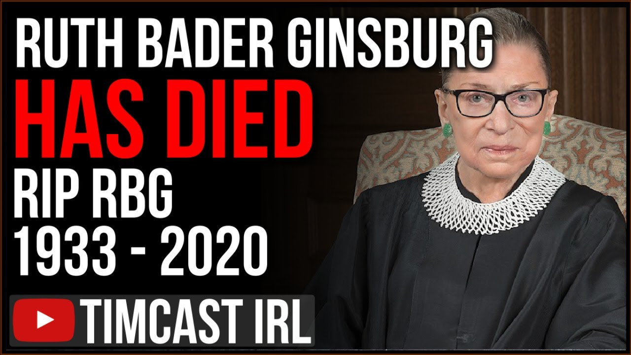Ruth Bader Ginsburg Has Died, Trump Must Now Appoint NEW SCOTUS Judge