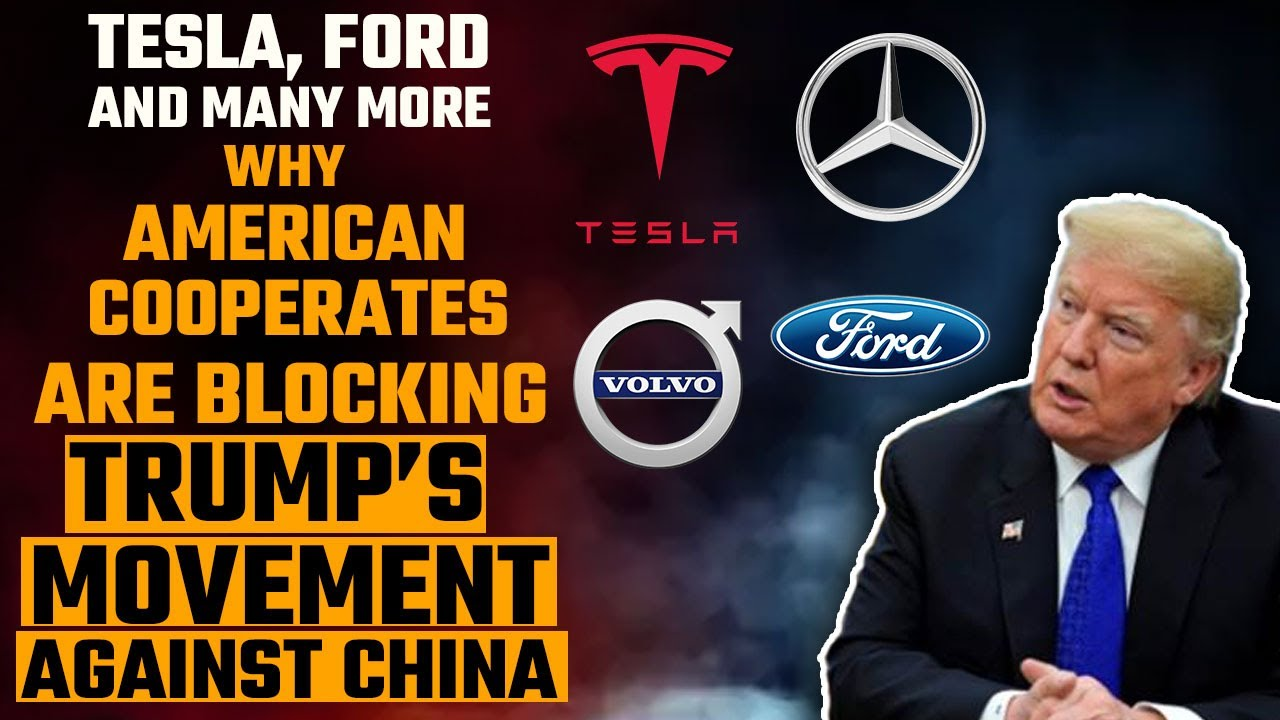 American corporate elites are weakening Donald Trump's fight against China and it's tragic