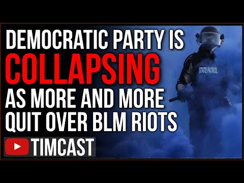 Democrat Base COLLAPSING As More Quit The Party Over BLM Leftist Riots, Small Towns Join Republicans