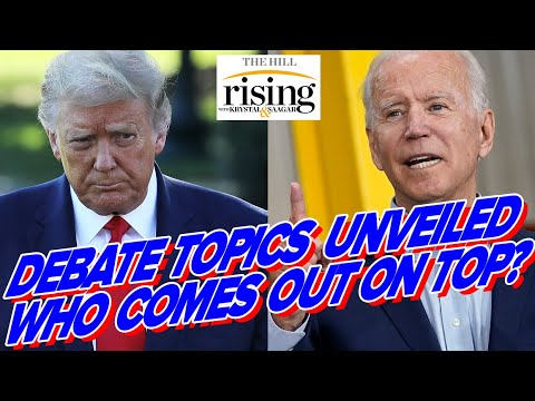 Debate TOPICS Revealed, Can Biden BEAT Historically Low Expectations?