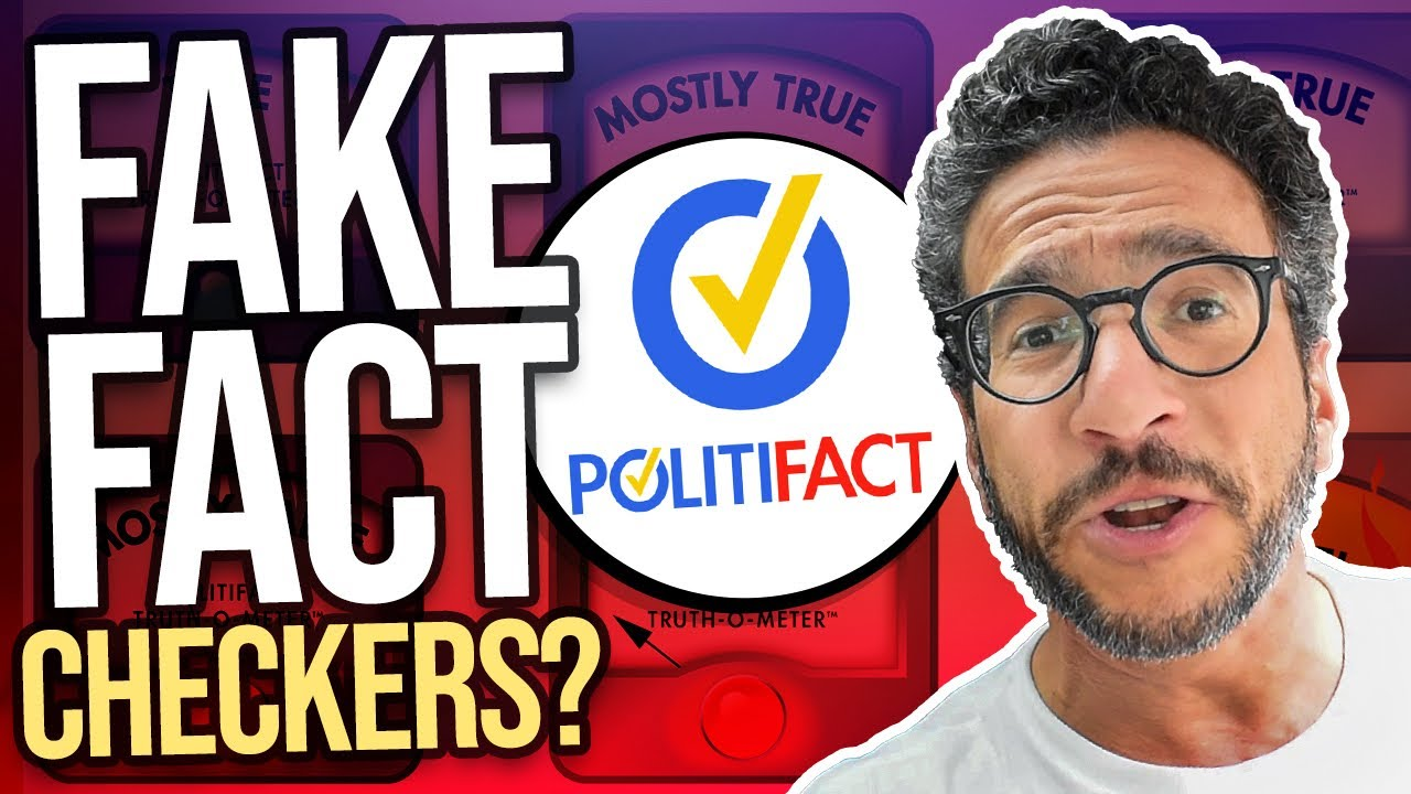 Is Politifact is a FAKE Fact Checker