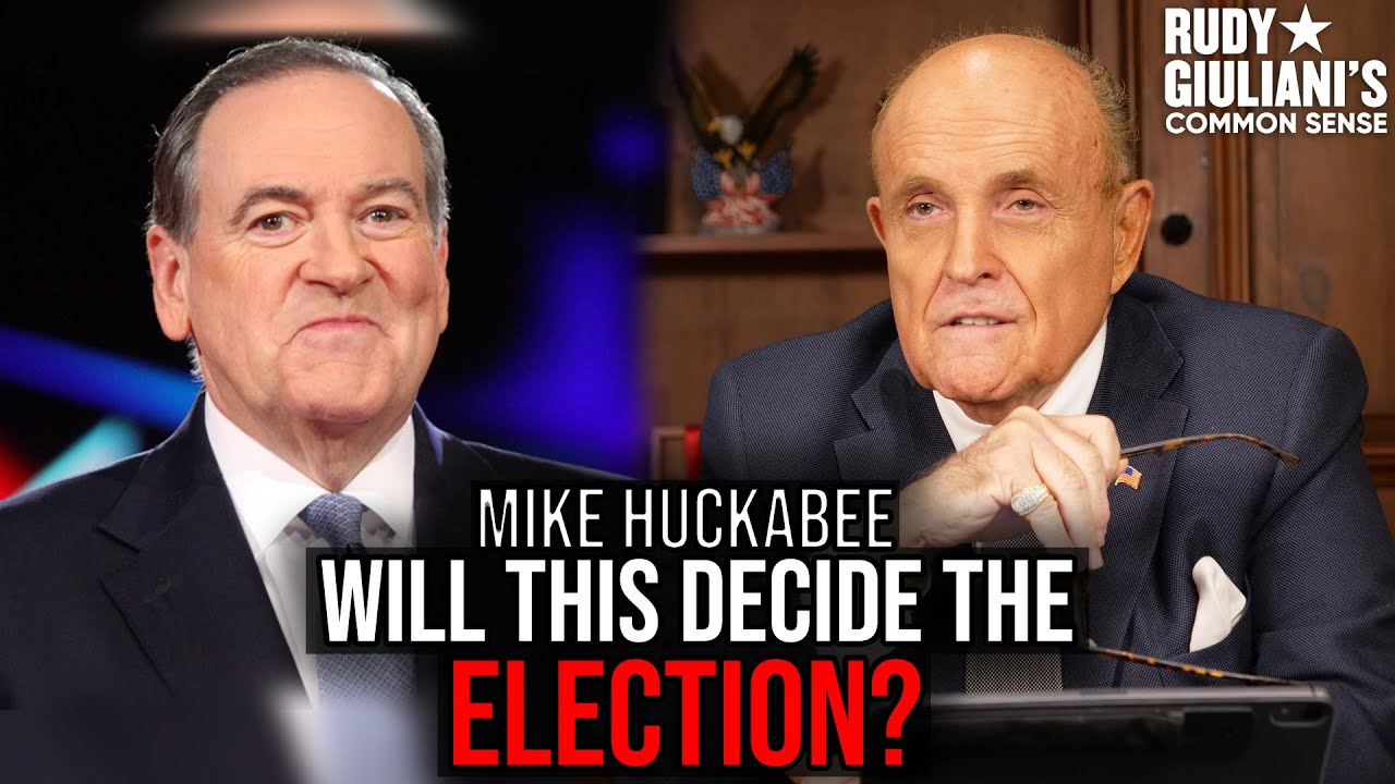 This Could DECIDE THE ELECTION | Rudy Giuliani and Governor Mike Huckabee