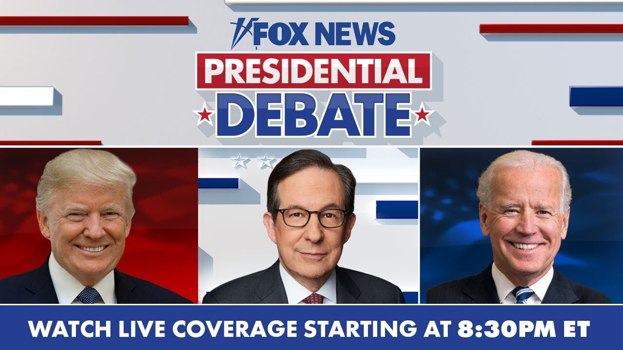 Live: Trump-Biden presidential debate moderated by Chris Wallace