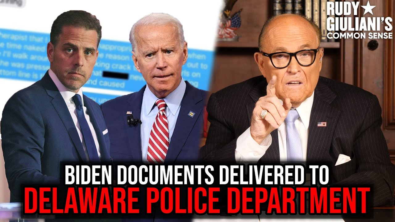 Incriminating Biden Documents Delivered To Delaware Police Department