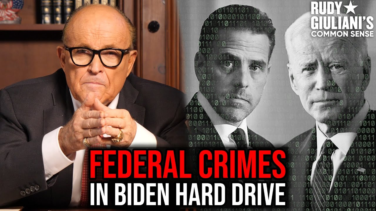 Federal Crimes Uncovered In Biden Hard Drive
