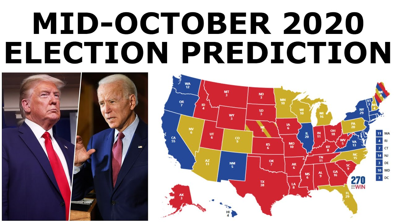 Updated 2020 Election Prediction (October 16, 2020)