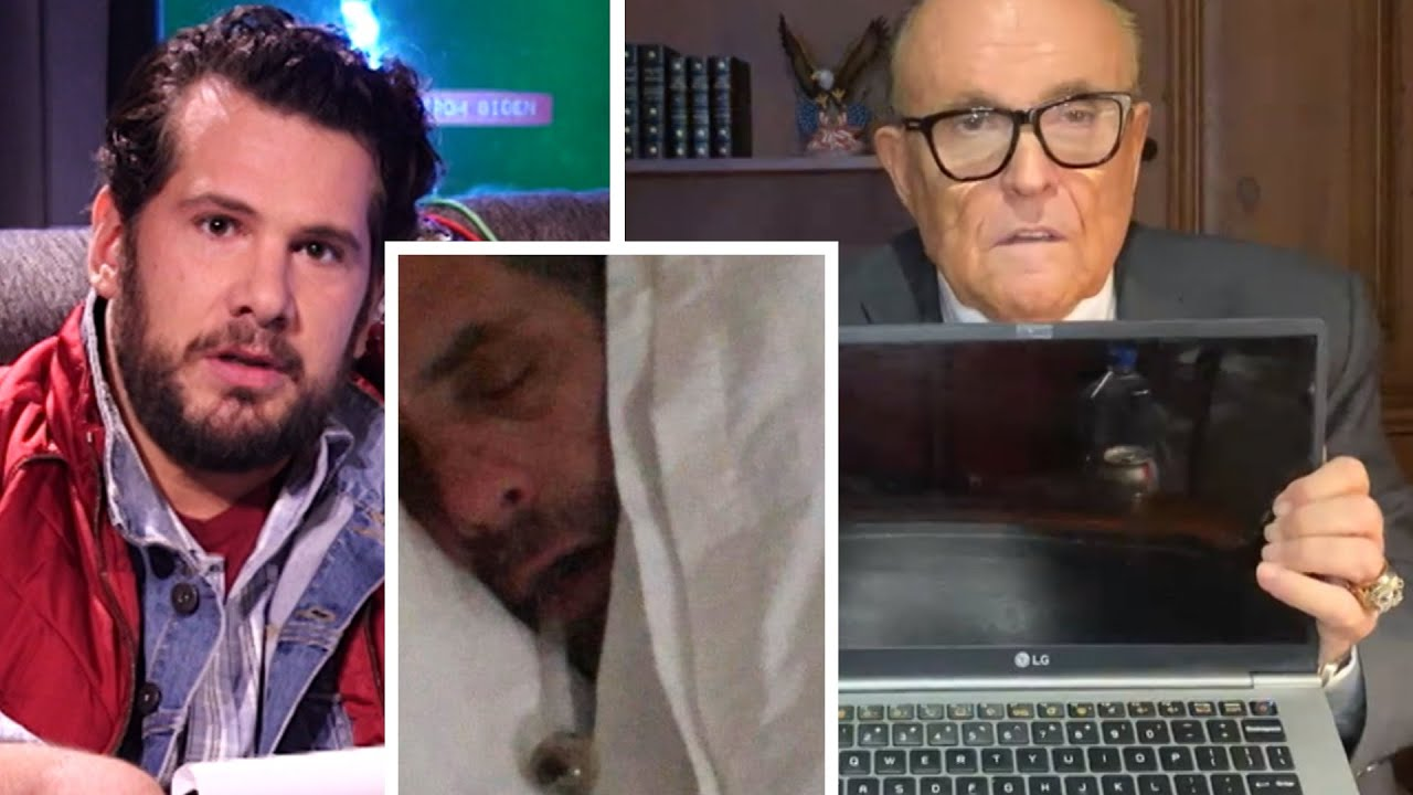 Giuliani Shows New Hunter Biden Evidence ON AIR!