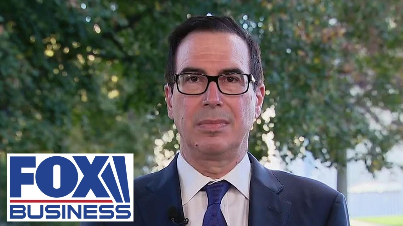 Mnuchin on stimulus talks: I suspect Dems don't want to give Trump a win before election