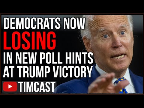 Democrats May LOSE The Election As New Poll Shows Democrats Are Quitting, Biden Warns Polls WRONG