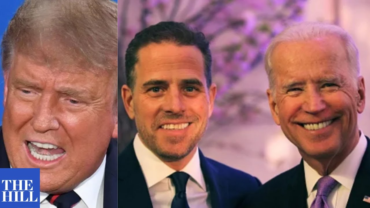 President Trump speaks out on Hunter Biden laptop report