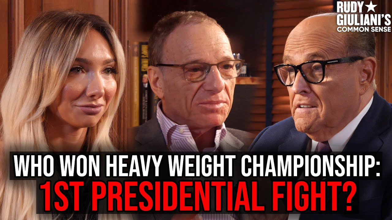 WHO WON 1st PRESIDENTIAL Fight? | Rudy Giuliani's