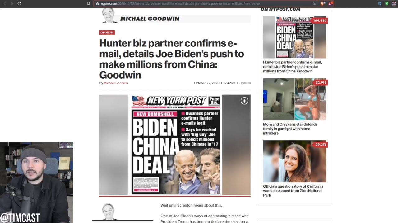 Ex Partner FLIPS ON Joe Biden, Biden Signed Off on Foreign Deals, Made MILLIONS From Communist China