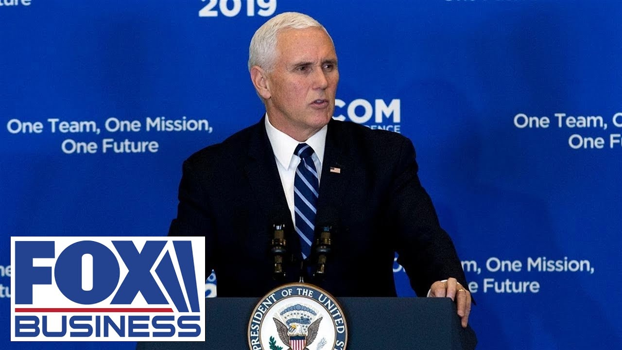 Pence participates in a 'Make America Great Again' rally in Indiana
