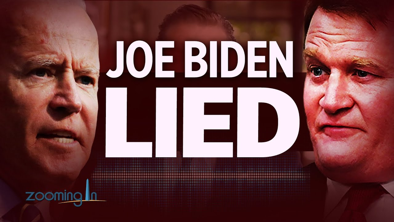 New Audio Proves Joe Biden Lied; Implicated in Criminal Investigation