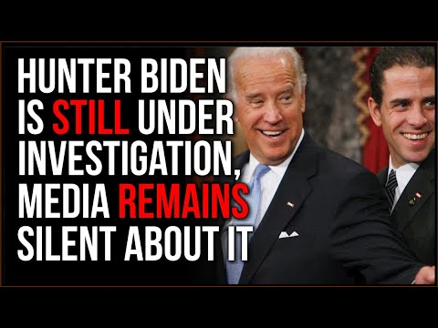 DOJ Confirms Hunter Biden Is STILL Under Investigation, Why Is NO ONE Talking About This??