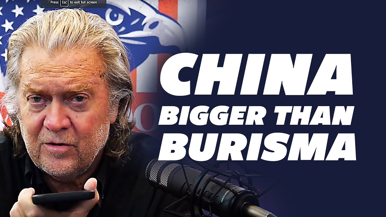 Steve Bannon: China is Bigger Than Burisma! Top Democratic leaders involved?