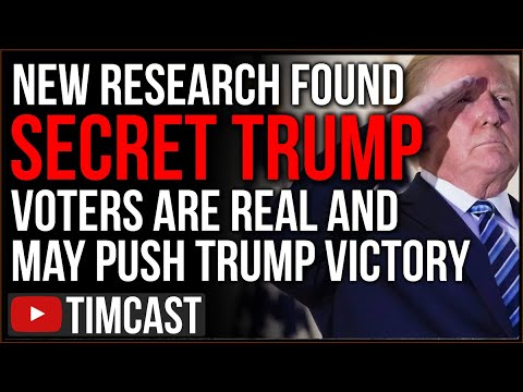 Secret Trump Voters ARE REAL, New Research Shows Polling Is WRONG And Trump Might CRUSH Biden