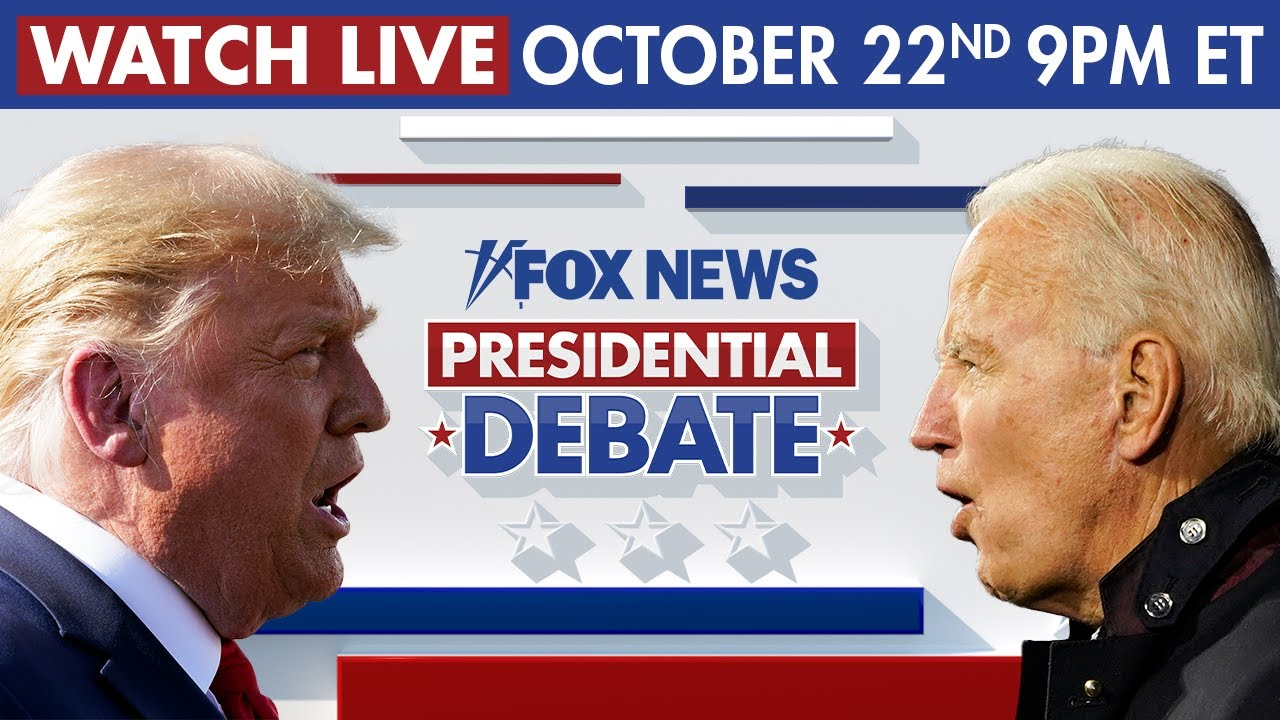 Live: Trump, Biden debate in final face-off of 2020 presidential election