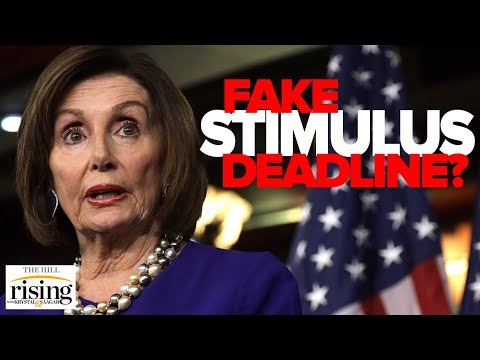 Pelosi Sets FAKE Deadline For New Excuse To Kill Stimulus Talks Before Election