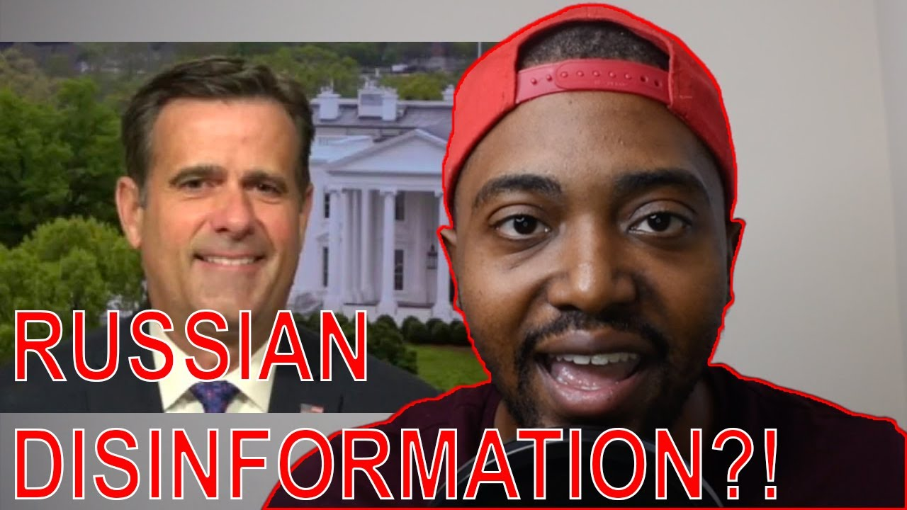 DNI John Ratcliffe DEBUNKS MSM & Confirms Hunter Biden Laptop Emails Are Not Russia Disinformation