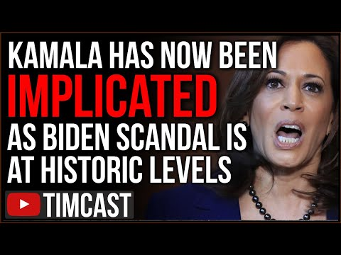 Kamala Implicated In Biden Scandal As It Grows To HISTORIC Levels, Fake News And Big Tech DESPERATE