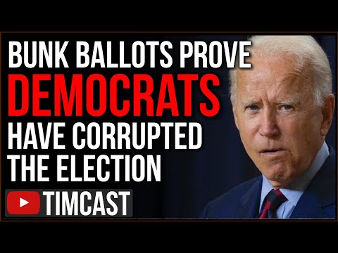 BUNK Ballots Sent Out En Masse PROVE Democrats Have Corrupted The Election Yet Media Blames Trump