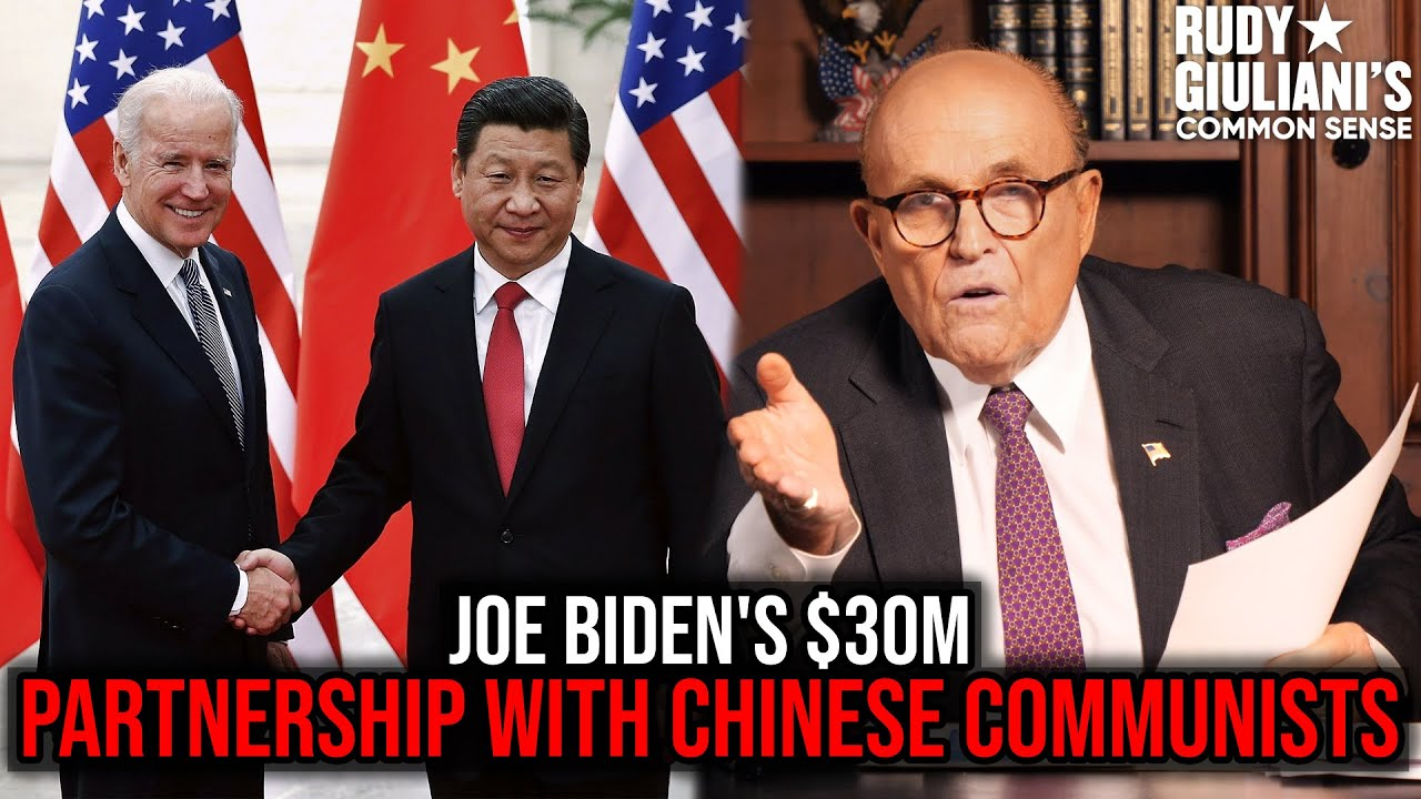 Joe Biden PARTNERED With Chinese COMMUNISTS For $30M