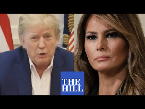 President Trump gives update on First Lady Melania Trump after Coronavirus diagnosis