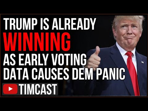 Trump Is Already WINNING In Key Early Voting, Democrats FREAKING OUT Over Numbers In Key Swing State