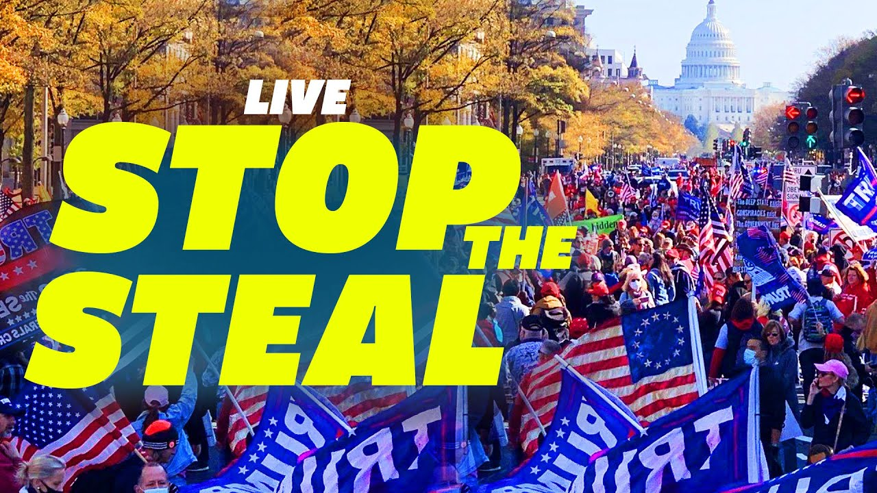 RALLY Live coverage: Stop the Steal