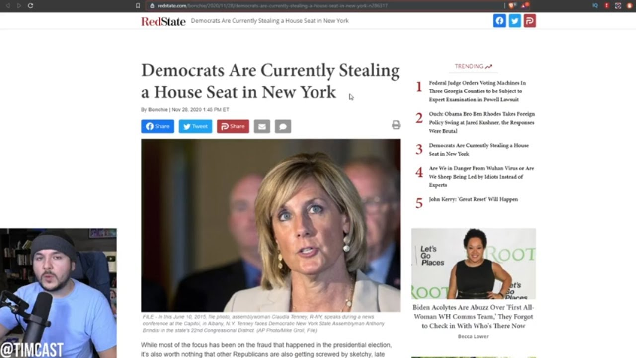 Democrats Get Judge To Reinstate Rejected Ballots Giving Dem Win By 13 Votes in New York State by Judicial meddling