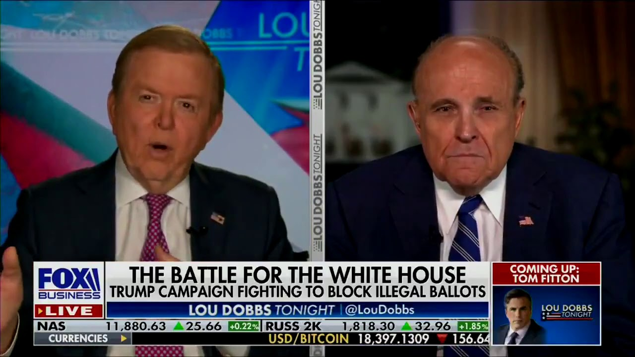 Mayor Rudy Giuliani: The Michigan attorney general doesn't care if Democrats steal an election