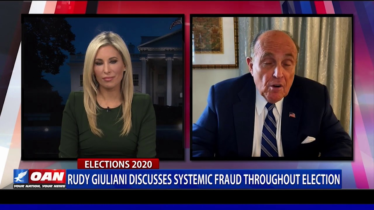 Rudy Giuliani discusses systemic fraud throughout election