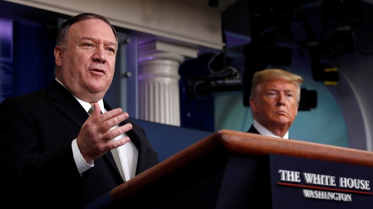Pompeo promises a 'smooth transition' to a second Trump administration
