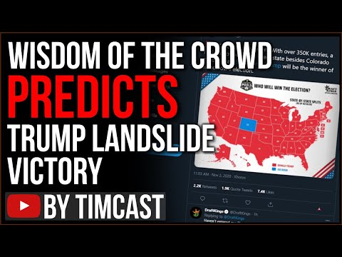 Wisdom Of The Crowd Predicting TRUMP LANDSLIDE, Farage Says Polls Are LYING To Suppress Trump Vote