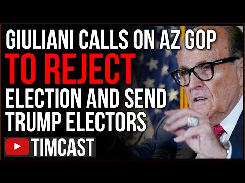 Giuliani Calls On AZ GOP To REJECT Election, Appoint Electors For Trump As Governor Certifies State