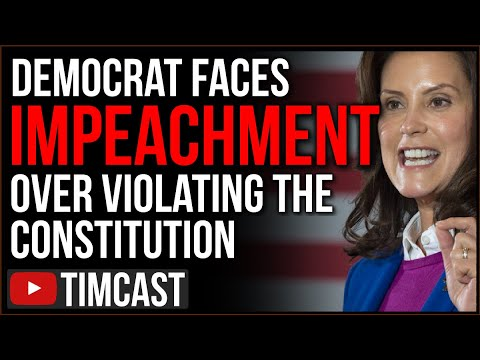Democrat Governor Whitmer Faces IMPEACHMENT, Republicans REJECT Her Unconstitutional COVID Lockdown